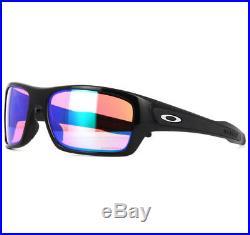 Oakley OO9263-30 Turbine Sunglasses Eyewear Polished Black Frame Prizm Golf Lens