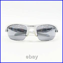 Oakley Oo9162-06 Sunglasses Fast Jacket White System 71 09 Secondhand Golf Wear