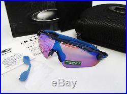 Oakley Prizm Golf Radar EV Path Asia Fit Navy / Prizm Golf Sunglasses OO9275-05