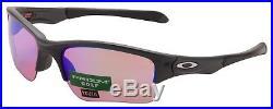 Oakley Quarter Jacket Sunglasses OO9200-1961 Steel Prizm Golf Lens Youth BNIB