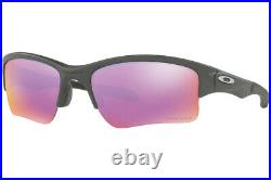Oakley Quarter Jacket YOUTH Sunglasses OO9200-19 Steel COLOR With PRIZM Golf
