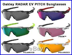Oakley RADAR EV PITCH Sunglasses (optional Polarized, PRIZM) Cycling, Mountain B