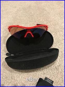 Oakley Radar 09-720 Red Sunglasses cycling Golf RARE