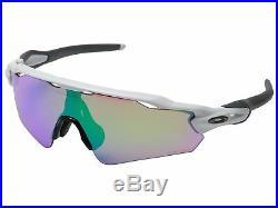 Oakley Radar EV Path Asian Fit OO9275-1235 Sunglasses Polished White Prizm Golf