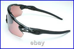 Oakley Radar EV Pitch OO9211-1838 Sunglasses Polished Black/Prizm Dark Golf