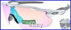 Oakley Radar EV Pitch Sunglasses OO9211-05 Polished White Prizm Golf Lens