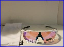 Oakley Radar EV Pitch Sunglasses OO9211-05 Polished White with Prizm Golf Lens