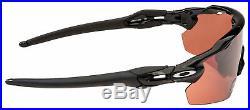 Oakley Radar EV Pitch Sunglasses OO9211-1838 Polished Black Prizm Dark Golf