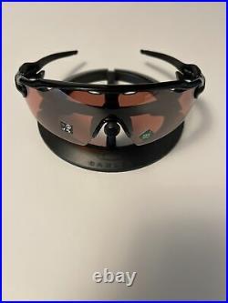 Oakley Radar EV Pitch Sunglasses Polished Black Prizm Dark Golf OO9211-1838