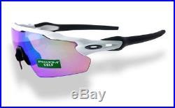 Oakley Radar EV Pitch Unisex Sunglasses POLISHED WHITE PRIZM GOLF oo9211-05