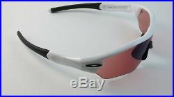 Oakley Radar Edge Polished White G30 Iridium Golf OO9184-07 NEW RARE