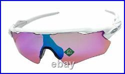 Oakley Radar Ev Path sunglasses polished white frame Prizm Golf Lens OO9208 NEW