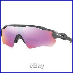 Oakley Radar Ev Xs Path Youth Fit Unisex Sunglasses Steel Prizm Golf