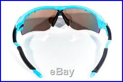 Oakley RadarLock Glacier Blue Polarized Cycling Golf Baseball Sunglasses