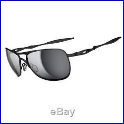 Oakley Sports Mens Crosshair Sunglasses Matte Black/Black Iridium