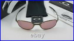 Oakley Square Wire 2.0 Black Chrome G30 Iridium Golf+Box 05-679 Gen 1 NEW RARE