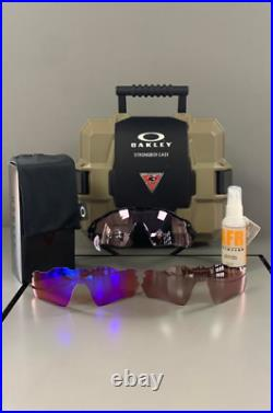 Oakley StrongBox shooting and golfing kit with Oakley Radar sunglass + 3X lenses