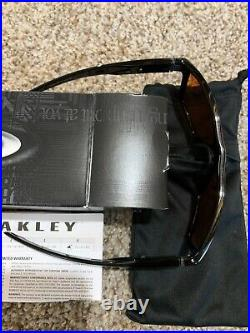 Oakley Sunglasses CROSSRANGE XL Polished Black Prizm Golf OO9360-5817 0458 106-O