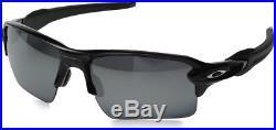 Oakley Sunglasses FLAK 2.0 XL Polished Black Frame Black Iridium Polarized Lens