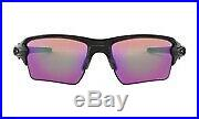 Oakley Sunglasses FLAK 2.0 XL Polished Black Frame with Prizm Golf Lens OO9188-05