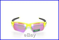 Oakley Sunglasses Flak Jacket 2.0 XL 9188-11 Uranium Prizm Golf Clearance