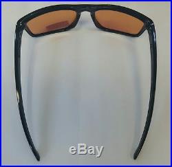 black and purple oakley sunglasses no5a  Oakley Sunglasses GLOSS BLACK 926269 5718 with Prism Golf Purple Lens Sport