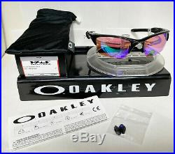 Oakley Sunglasses HALF JACKET 2.0 XL POLISHED BLACK/PRIZM GOLF OO9154-49