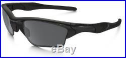 Oakley Sunglasses HALF JACKET 2.0 XL Polished Black Frame withBlack Iridium Lens