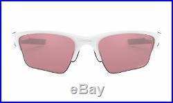 Oakley Sunglasses Half Jacket 2.0 XL Polished White with Prizm Dark Golf Lens