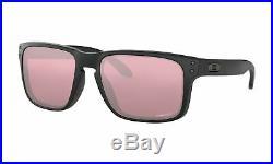 Oakley Sunglasses Holbrook Matte Black Frame with Prizm Dark Golf Lens OO9102-K055