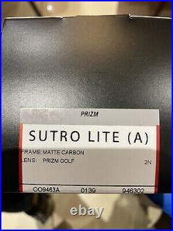 Oakley Sutro Lite OO9463(A) 02 MATTE CARBON PRIZM GOLF
