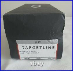 Oakley Targetline Sunglasses Matte Black Frame Prizm Dark Golf Lens