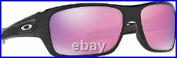 Oakley Turbine Polished Black Plastic Frame Prizm Golf Lens Men's Sunglasses