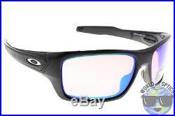 Oakley Turbine Sunglasses OO9263-30 Polished Black with Prizm Golf Lens
