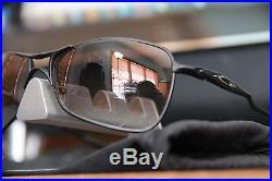 RARE Oakley CROSSHAIR MATTE BLACK BLACK GRADIENT LEN$