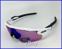 Radar EV Pitch Sports Sunglasses Polished White with Prizm Golf