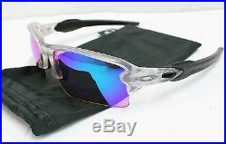 (Rare) NEW OAKLEY Sunglasses FLAK 2.0 XL Matte Clear Prizm Golf