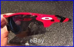 Rare Oakley Radarlock Straight Stem Custom Path Sunglasses Cricket Cycling Golf