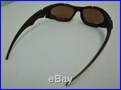 Rare Unused OAKLEY PLATE Bronze Sports Sunglasses Golf