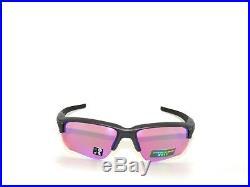 SALE OAKLEY FLAK DRAFT 9364-04 STEEL PRIZM GOLF POLARIZED Sunglasses