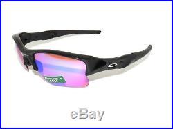 Saleoakley Flak Jacket Xlj 24-428 Polished Black Prizm Golf Sunglasses
