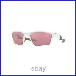 Sunglasses OAKLEY HALF JACKET 2.0 XL 9154-63 Polished White Prizm Dark Golf