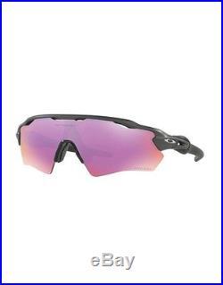 Sunglasses OAKLEY RADAR EV XS PATH YOUTH 9001-03 Steel Prizm Golf