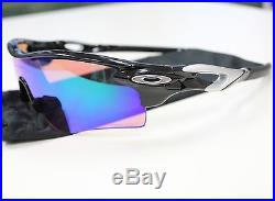oakley golf sunglasses radarlock  used oakley sunglasses radarlock path (af) polished black prizm golf oo9206 25