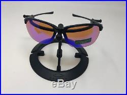 Women's Oakley PRIZM GOLF UNSTOPPABLE Polished Black Sunglasses OO9191-1565